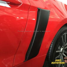 FIT For 15-16 Ford Mustang R Style Rear Side Fender Door Scoops Unpainted - ABS