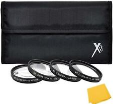 40.5mm 4 Pieces Macro Close Up Filter Kit for Sony A5000 A5100 A6000 A6300