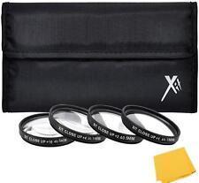 Close up Macro Lens Kit For Nikon 1 Nikkor 10mm 10-30mm 11-27.5mm 30-110mm Lens