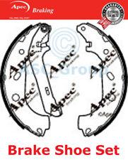 Apec BRAKING Recambio 228mm x 57mm Zapatas de freno tambor Set shu658 (con