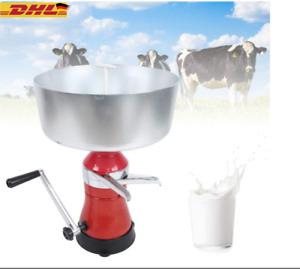 Milchzentrifuge 80L Manueller Sahne+Milchabscheider Milchseparator Separator