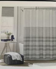 Tommy Hilfiger 4pc Queen Sheet Set Navy Blue / White Check Cotton Blend