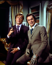 TONY CURTIS ROGER MOORE THE PERSUADERS! 8X10 PHOTO