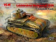 Icm 35330 - 1:3 5 Leichttraktor Rheinmetall 1930, German Serbatoio - Nuovo