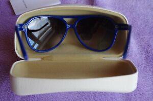 Michael Kors Original MK 6030 tolle Sonnenbrille(Vianne II) mit Etui BlauSchwarz