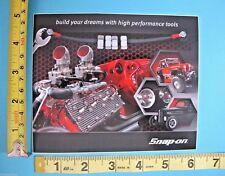 Genuine Official Snap On Tools Logo Decal BUILD YOUR DREAMS Vinyl Sticker - NEW