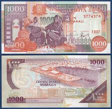 SOMALIA 1000 Shillings 1996 UNC  P. 37 b
