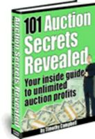 101 Auction Secrets Revealed ebook on CD WResell right