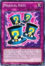 Magical Hats X 3 LCYW Yugi's World Yugioh Mint Cards
