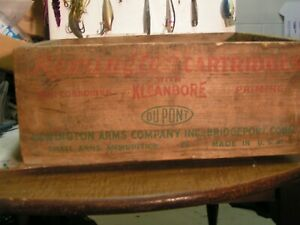 Remington Wood Ammo box