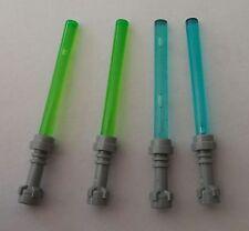 LEGO® Star Wars™ 4 Laserschwerter 2x blau, 2x grün Neuware Zubehör für Figuren