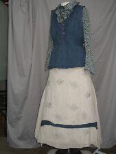 Victorian Dress Womens Edwardian Costume Civil War Style Outfit Custom Designed