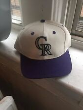 MLB Colorado Rockies snapback/hat/cap VTG 90s Helton Denver Baseball Holliday