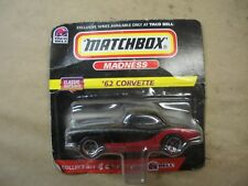 Vintage 1998 Taco Bell Matchbox '62 Corvette