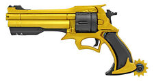 NEW Overwatch McCree Space Cowboy Six Shooter GOLD Pistol Foam COSPLAY