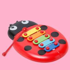 Melodious Ladybird Baby Kid 8-Note Xylophone Musical Toys Wisdom Development Toy