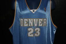 True Authentic NBA Denver Nuggets Marcus Camby Jersey Adidas Sz 56 MSRP  285 87dbee82b