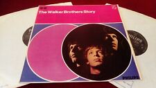 THE WALKER BROTHERS - STORY - ORIGINAL UK DOUBLE LP IN LAMINATED GATEFOLD