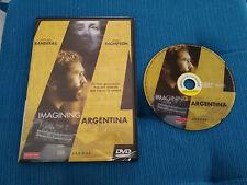 IMAGINING ARGENTINA DVD SLIM ANTONIO BANDERAS EMMA THOMPSON ESPAÑOL INGLES