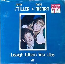 JERRY STILLER & ANNE MEARA - LAUGH WHEN YOU LIKE - ATLANTIC - 1972 LP - SEALED