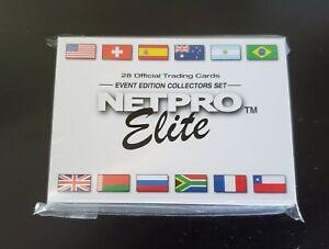 Sealed 2003 Netpro Elite Event Edition Complete Set of 28 Serena Federer Nadal!