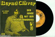 """BERND CLUVER """"Der Junge mit der Mundharmonia"""" 1974 SELTENE HOLLANDISCHE PS 7""""/45"""