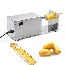 Automatic cutter machine Electric stainless steel twisted potato tornado slicer