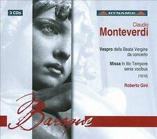 Vespro Della Beata Vergina Da Concerto in Festo As, New Music