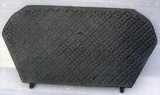 Original Antique Victorien Fonte cheminée pièces détachées: arrière Draw Plate