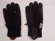 New Reusch Spring Ski Running Fleece Gloves Medium  (8.5) Breeze #2493171 Black