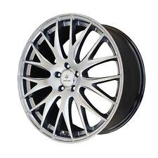17x7.5 Verde Saga 5x108 +40 Silver Rims Wheels Brand New (Set)