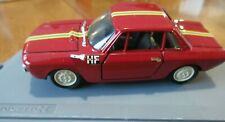 1965 Red Lancia Fulvia Coupe HF Stradale Progettok Automodelll Italy 1/43