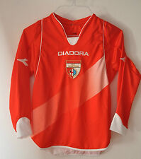 2007 - 2008 A.C. Mantova Trikot Diadora Maglia vintage kids away XXXS