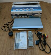 Sony DVP-NS330 CD DVD Player Boxed Instructions Remote - Free P&P