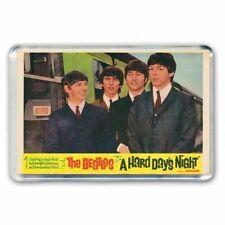 60's NOSTALGIA 'THE BEATLES'- HARD DAYS NIGHT LOBBY IMAGE JUMBO FRIDGE MAGNET