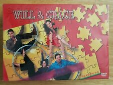 Will and Grace Special Edition Felt Box Seasons 1-8 Complete Series DVD 38 Disc