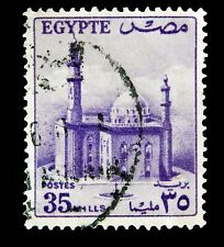 Egypt  iStamp 1955  /  Mosque   Used