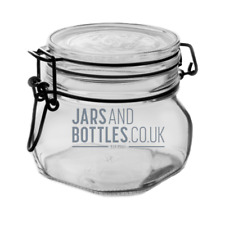 Bulk set 500ml ClipTop Jars prefect for jams, pickles, food storage & preserves