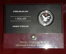 LUCKY LOONIE .925 STERLING SILVER DOLLAR COIN SET IN BOX