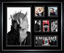 Eminem Signed Framed Memorabilia