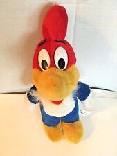 1989 Woody Woodpecker Plush Stuffed Universal Studios Florida VINTAGE RETRO