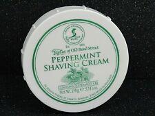 Taylor of Old Bond Street Peppermint Shaving Cream 5.3 fl oz New