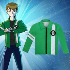 Ben 10 Alien Force Ultimate Omnitrix Green Jacket Benjamin Kids Cosplay Costume