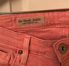 2ece4b47ee1d Anthropologie AG Stevie Ankle Pink Jeans (sz 26R)