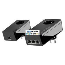 Devolo dLAN® pro 1200+ triple 1200Mbit/s Ethernet LAN Black 2pc(s) PowerLin 9924