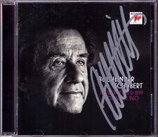 Rudolf libro Binder SIGNED Schubert Sonata d.960 4 Impromptus 899 pianoforte Sonata CD