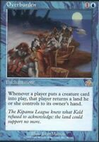 Overburden x1 Magic the Gathering 1x Prophecy mtg card