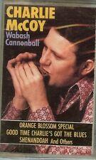CHARLIE McCOY - WABASH CANNONBALL - CASSETTE - NEW