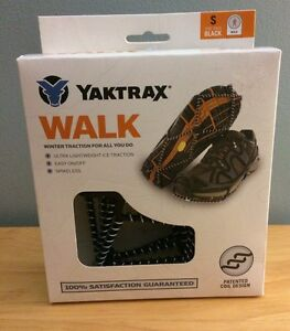 NIB YAKTRAX Men's Traction Cleats for Walking Hiking on Snow Ice