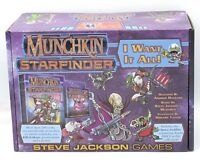 Munchkin: Starfinder SJG4476 I Want It All (Complete Set) Space Humor Card Game